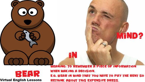 Bear in mind